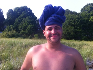 Our Friend Addy. Does he look Indian? well he's not...never judge a man by his turban.