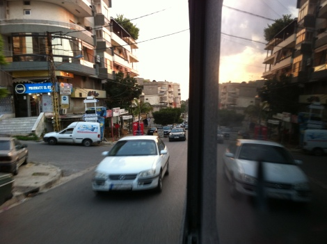 bus ride to Saida