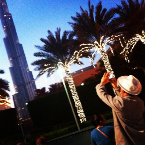 Tourists and Tall Buildings